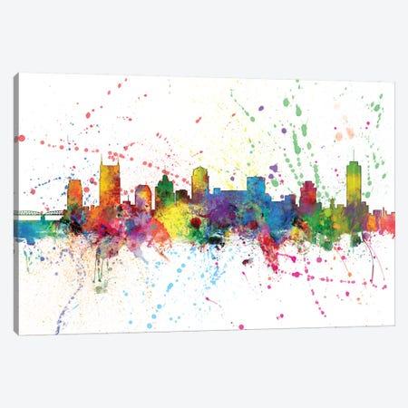 Nashville, Tennessee, USA Canvas Print #MTO149} by Michael Tompsett Canvas Artwork