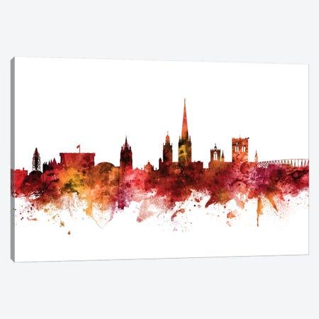Norwich, England Skyline Canvas Print #MTO1508} by Michael Tompsett Canvas Print