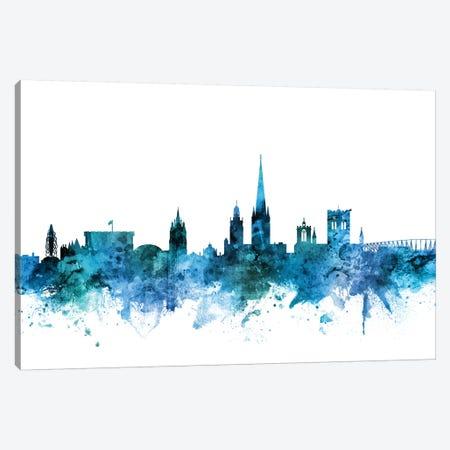 Norwich, England Skyline Canvas Print #MTO1509} by Michael Tompsett Canvas Art Print