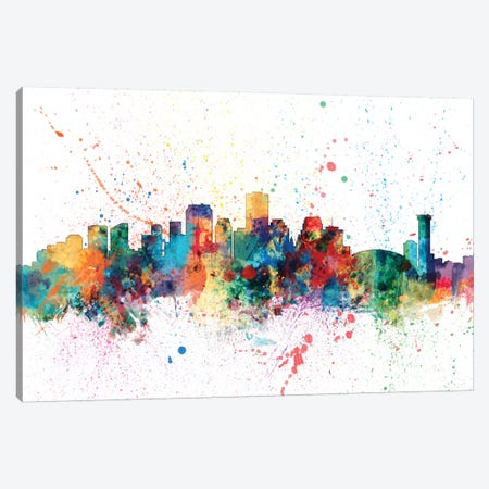 New Orleans, Louisiana, USA Canvas Print #MTO150} by Michael Tompsett Art Print