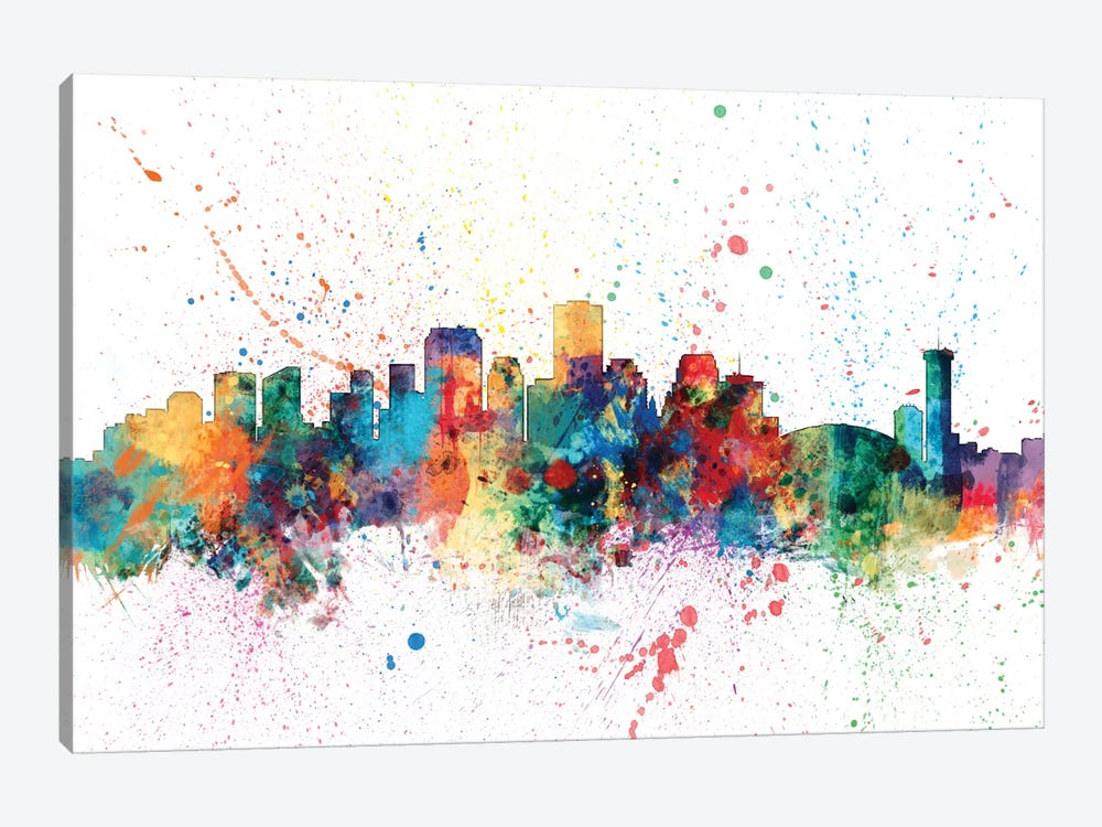 New Orleans, Louisiana, USA by Michael Tompsett 1-piece Canvas Art Print
