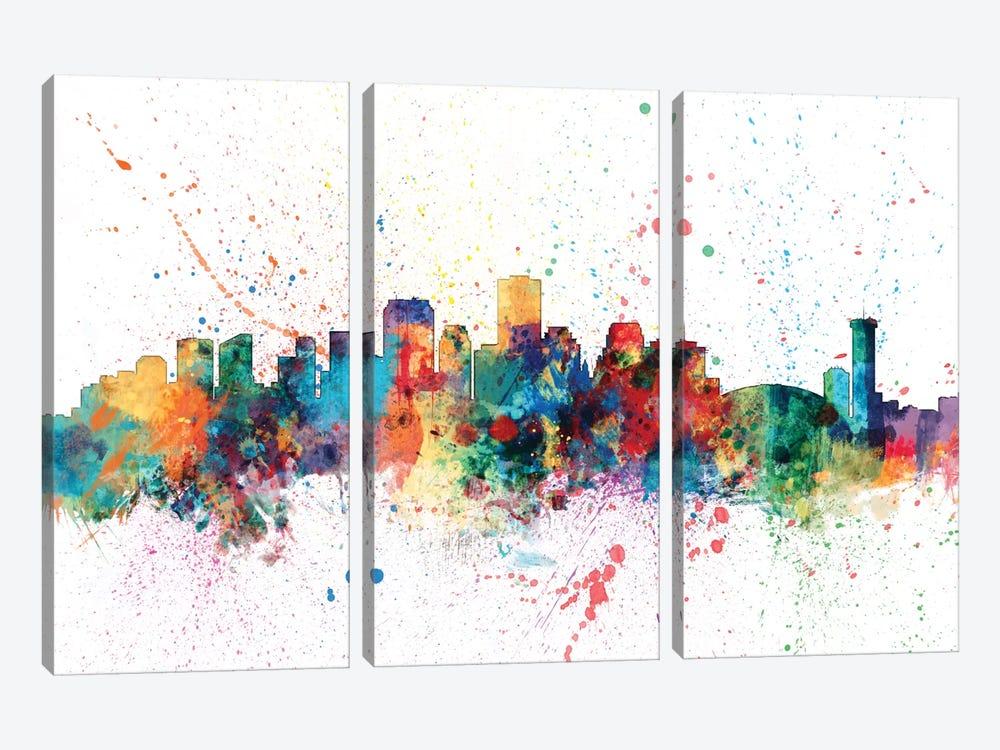 New Orleans, Louisiana, USA by Michael Tompsett 3-piece Art Print