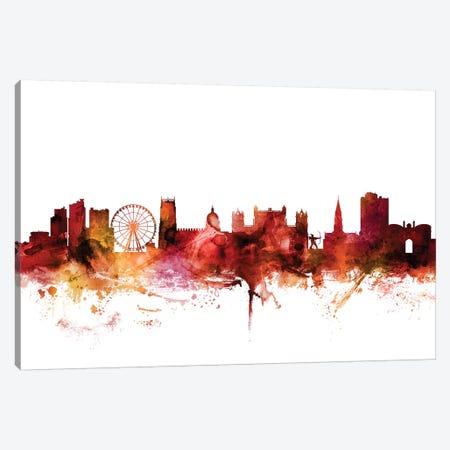 Nottingham, England Skyline Canvas Print #MTO1510} by Michael Tompsett Canvas Art