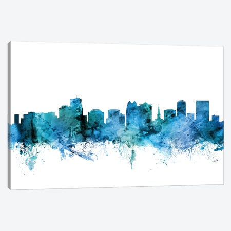 Orlando, Florida Skyline Canvas Print #MTO1515} by Michael Tompsett Canvas Art Print