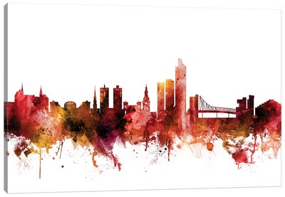 Oslo, Norway Skyline Canvas Art Print