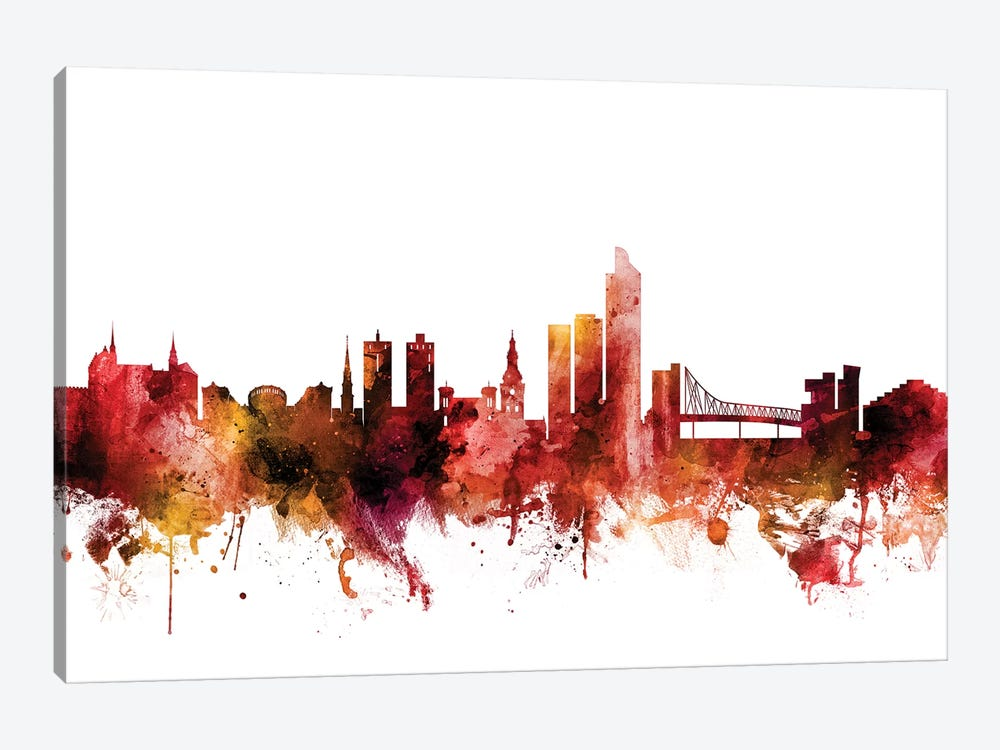 Oslo, Norway Skyline by Michael Tompsett 1-piece Canvas Art