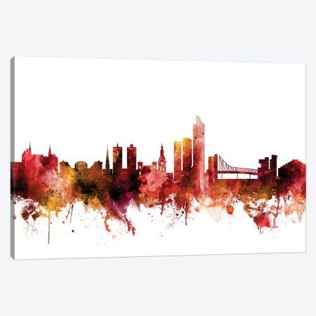 Oslo, Norway Skyline Canvas Print #MTO1516} by Michael Tompsett Canvas Art Print
