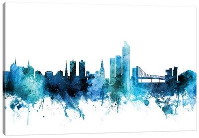Oslo, Norway Skyline Canvas Art Print