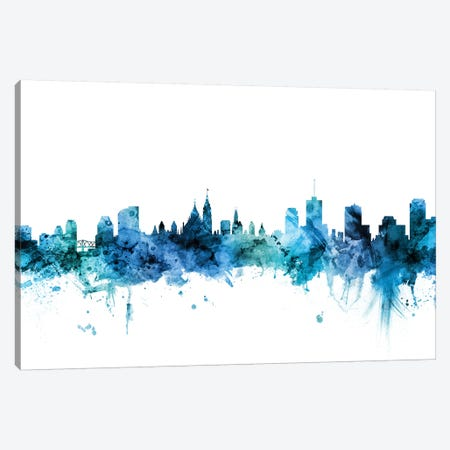 Ottawa, Canada Skyline Canvas Print #MTO1519} by Michael Tompsett Canvas Art