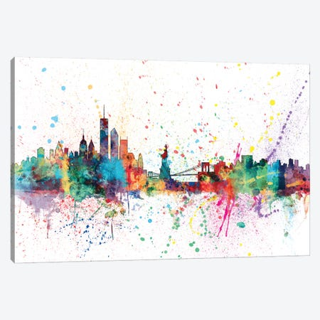 New York City, New York, USA Canvas Print #MTO151} by Michael Tompsett Canvas Art Print