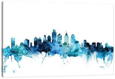 Philadelphia, Pennsylvania Skyline Canvas Art Print