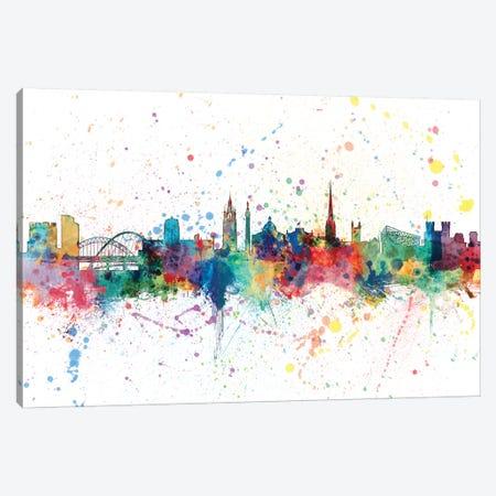 Newcastle, England, United Kingdom Canvas Print #MTO152} by Michael Tompsett Canvas Art Print