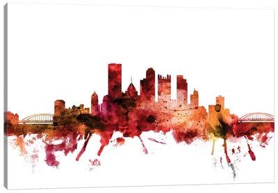 Pittsburgh, Pennsylvania Skyline Canvas Art Print