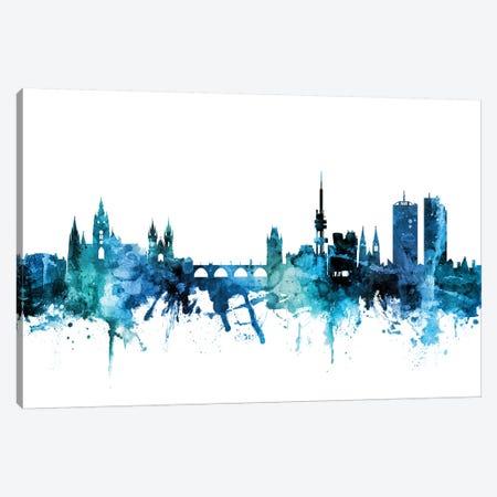 Prague (Praha), Czech Republic Skyline Canvas Print #MTO1541} by Michael Tompsett Canvas Art Print