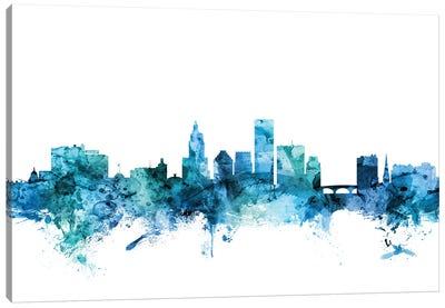 Providence, Rhode Island Skyline Canvas Art Print