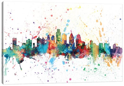 Philadelphia, Pennsylvania, USA Canvas Art Print