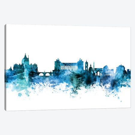 Rome, Italy Skyline Canvas Print #MTO1557} by Michael Tompsett Canvas Print