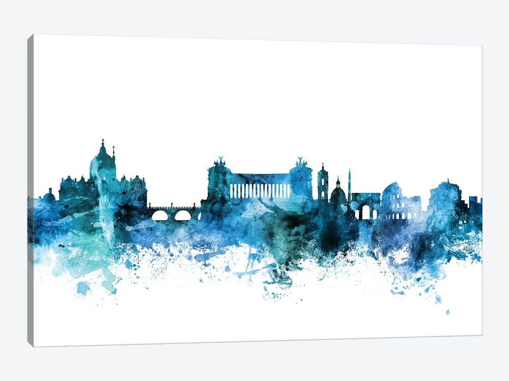 Rome, Italy Skyline by Michael Tompsett 1-piece Canvas Art Print
