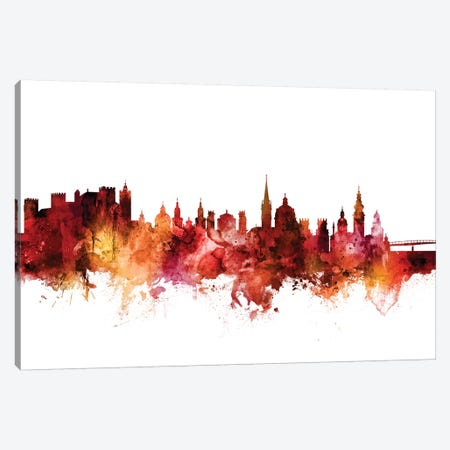 Salzburg, Austria Skyline Canvas Print #MTO1566} by Michael Tompsett Canvas Artwork