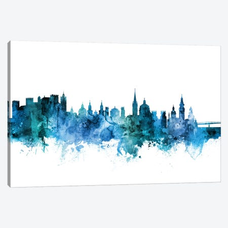 Salzburg, Austria Skyline Canvas Print #MTO1567} by Michael Tompsett Canvas Wall Art