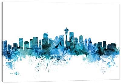 Seattle, Washington Skyline Canvas Art Print