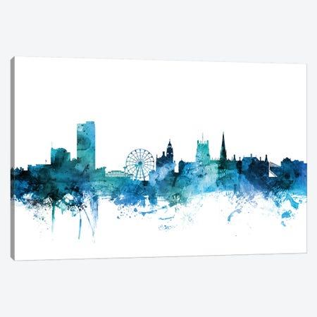 Sheffield, England Skyline Canvas Print #MTO1587} by Michael Tompsett Canvas Art