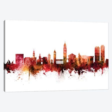 Split, Croatia Skyline Canvas Print #MTO1594} by Michael Tompsett Canvas Art Print