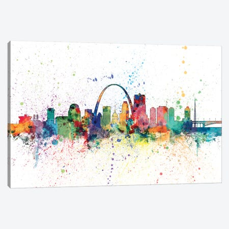 St. Louis, Missouri, USA Canvas Print #MTO159} by Michael Tompsett Canvas Art Print