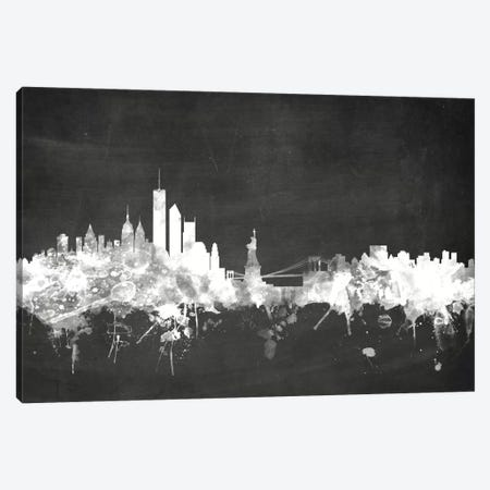 New York City, New York, USA Canvas Print #MTO15} by Michael Tompsett Canvas Art Print