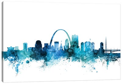 St. Louis, Missouri Skyline Canvas Art Print