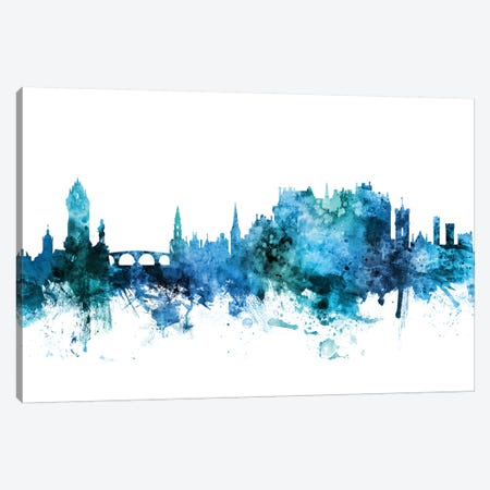 Stirling, Scotland Skyline Canvas Print #MTO1602} by Michael Tompsett Canvas Art