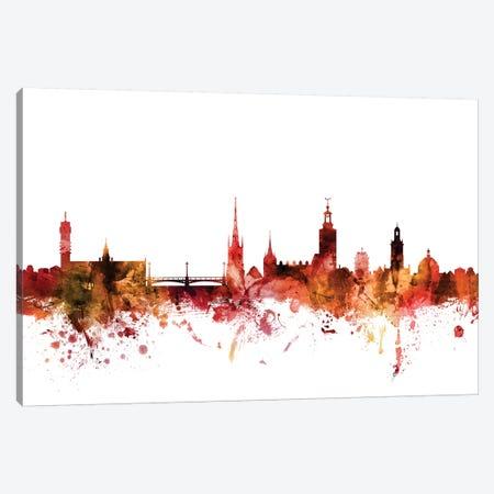 Stockholm, Sweden Skyline Canvas Print #MTO1604} by Michael Tompsett Canvas Art Print