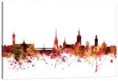 Stockholm, Sweden Skyline Canvas Art Print