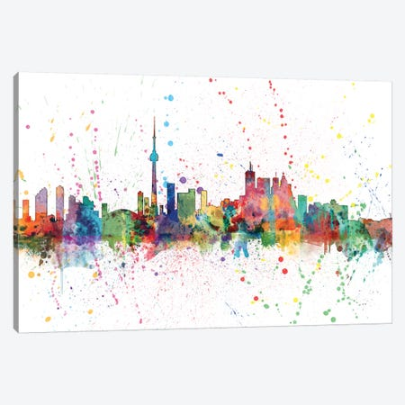 Toronto, Canada Canvas Print #MTO160} by Michael Tompsett Canvas Artwork