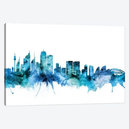 Sydney, Australia Skyline Canvas Print #MTO1615} by Michael Tompsett Canvas Art