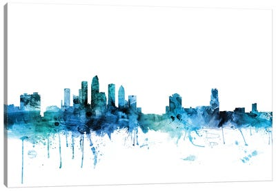 Tampa, Florida Skyline Canvas Art Print