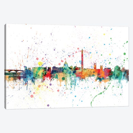 Washington, D.C., USA Canvas Print #MTO161} by Michael Tompsett Canvas Art