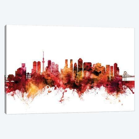 Tokyo, Japan Skyline Canvas Print #MTO1624} by Michael Tompsett Canvas Print