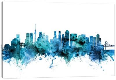 Tokyo, Japan Skyline Canvas Art Print