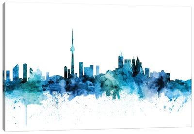 Toronto, Canada Skyline Canvas Art Print