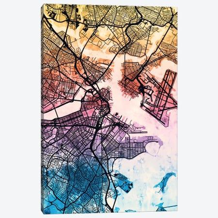 Boston, Massachusetts, USA 3-Piece Canvas #MTO162} by Michael Tompsett Canvas Wall Art