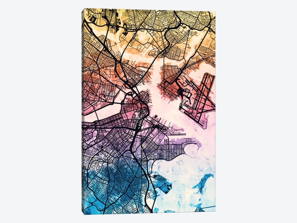 Boston, Massachusetts, USA by Michael Tompsett 1-piece Canvas Wall Art