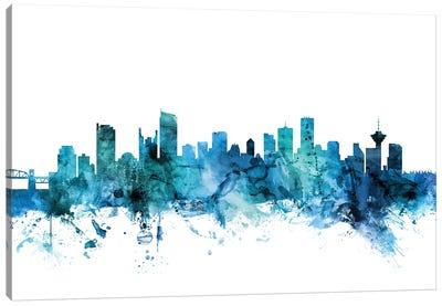 Vancouver, Canada Skyline Canvas Art Print