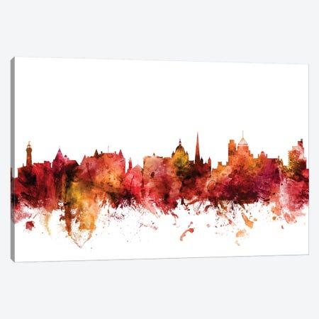 Victoria, Canada Skyline Canvas Print #MTO1638} by Michael Tompsett Canvas Print