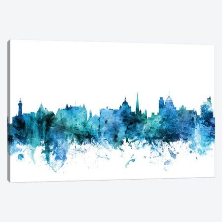 Victoria, Canada Skyline Canvas Print #MTO1639} by Michael Tompsett Art Print