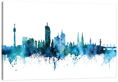 Vienna, Austria Skyline Canvas Art Print