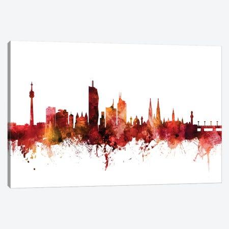 Vienna, Austria Skyline Canvas Print #MTO1641} by Michael Tompsett Canvas Artwork