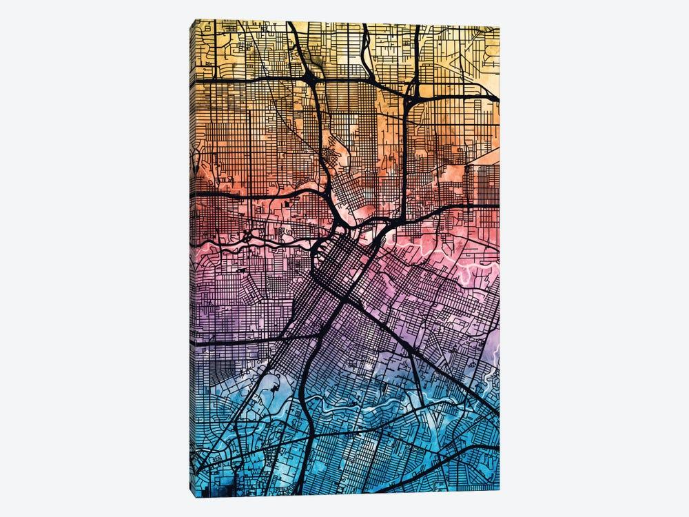 Houston, Texas, USA by Michael Tompsett 1-piece Canvas Artwork