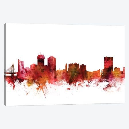 Wichita, Kansas Skyline Canvas Print #MTO1650} by Michael Tompsett Canvas Print