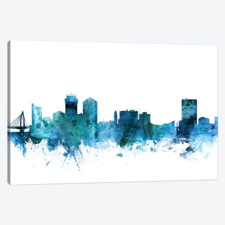 Wichita, Kansas Skyline Canvas Print #MTO1651} by Michael Tompsett Canvas Print